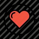 heart, search, love, target, valentine, im, true