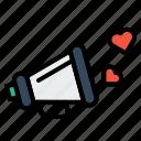 announcement, feel, heart, love, propose, valentine, world icon