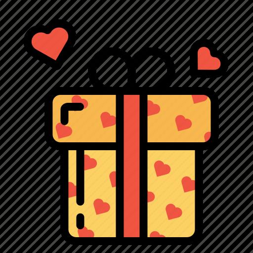 aww, day, gift, love, present, propose, valentine icon