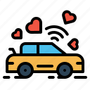 dancing car, feel, flow in love, hookup, makeout, sex, valentine icon