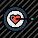 love, target, valentine, person, true, find, achieve