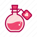 heart, love, potion, valentine