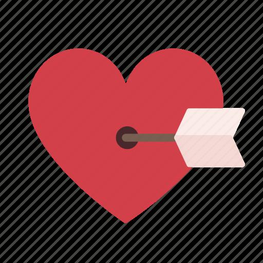 cupid, heart, love, romance, romantic, special, valentine icon