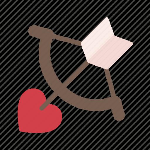 cupid, heart, love, message, romantic, valentine, wedding icon