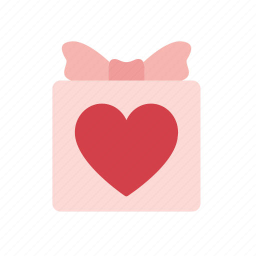 box, gift, package, present, romantic, special, valentine icon