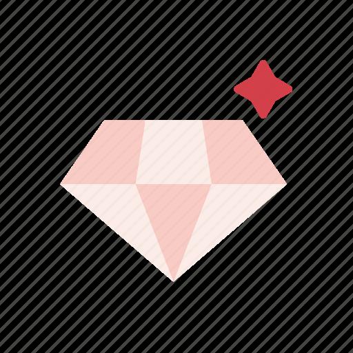 diamond, gem, jewel, jewelry, valentine, wedding icon