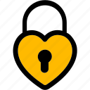 heart lock, lock, lock and unlock, locked, locker, password icon