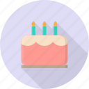 bakery, cake, celebration, decoration, pastry, valentine icon