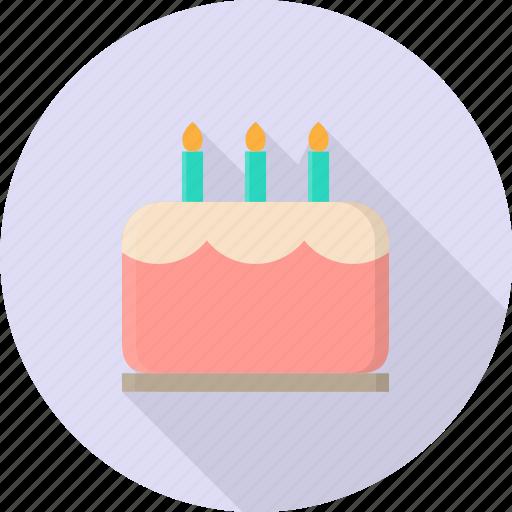 bakery, cake, celebration, decoration, pastry, valentine icon