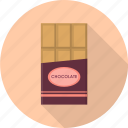 brown, chocolate, cocoa, dark, sweet, valentine icon