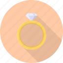 diamond, fashion, gift, jewel, luxury, ring, valentine icon