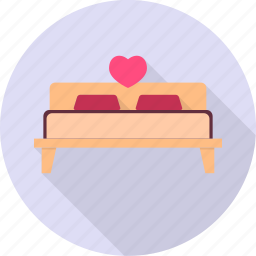 bed, couple, love, sleep, valentine, wedding icon