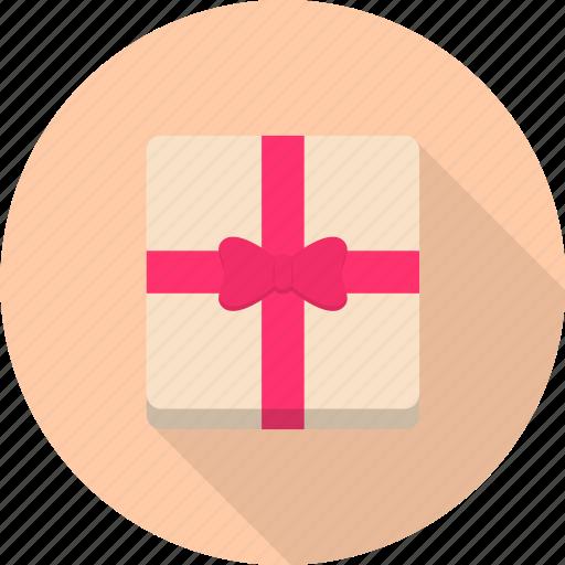 gift, present, ribbon, surprise, valentine icon
