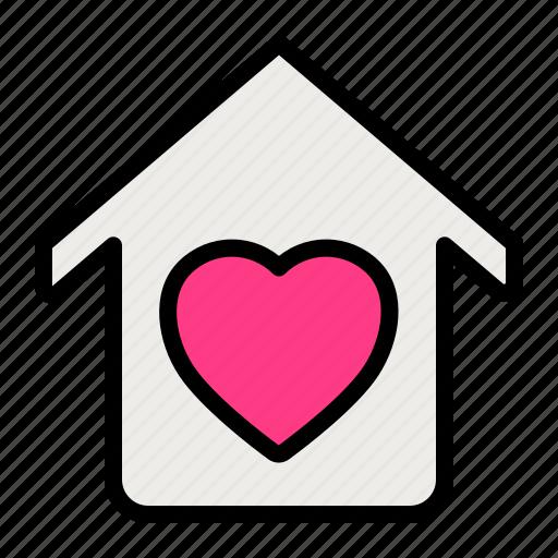 Home, love, romance, valentine, wedding icon - Download on Iconfinder