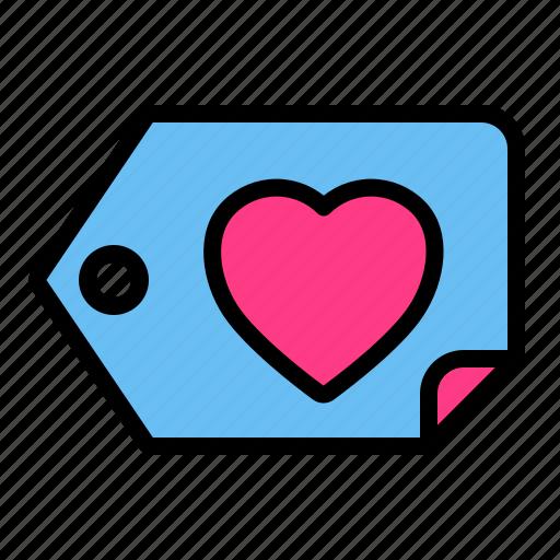 Love, romance, tag, valentine, wedding icon - Download on Iconfinder