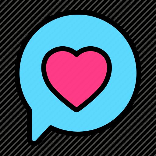 Chat, love, romance, talk, valentine, wedding icon - Download on Iconfinder