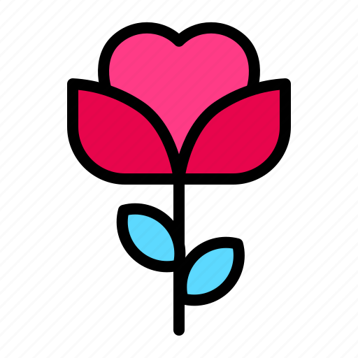Flower, love, romance, rose, valentine, wedding icon - Download on Iconfinder