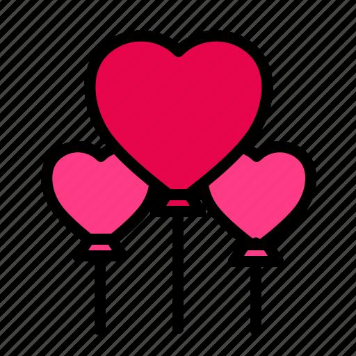 Baloon, love, romance, valentine, wedding icon - Download on Iconfinder