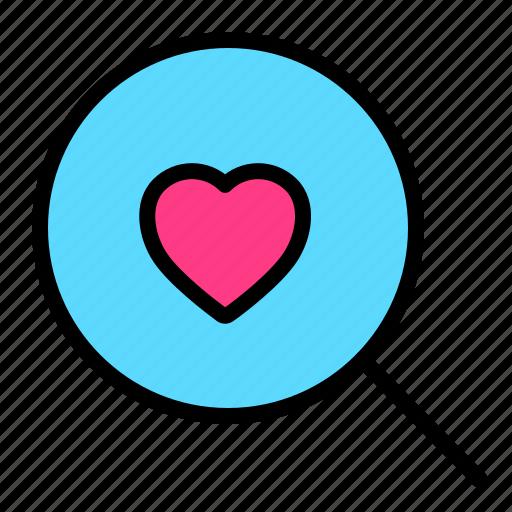 Find, love, romance, search, valentine, wedding icon - Download on Iconfinder