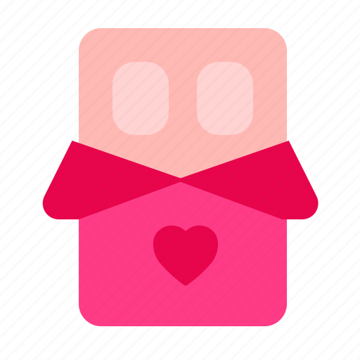 Chocolate, love, romance, valentine icon - Download on Iconfinder