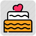 birthday, cake, valentine day, wedding