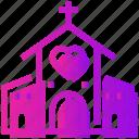 catholic, church, heart, valentine day, wedding