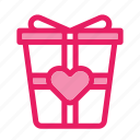 gift, love, romance, valentine icon icon