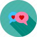bubble, bubbles, chat, communication, message, talk, text icon