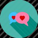 communication, chat, text, bubbles, bubble, message, talk