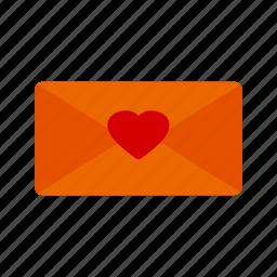 card, envelop, envelope, heart, letter, love, message icon