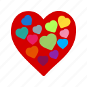 health, hearts, like, love, romance, romantic, valentine icon