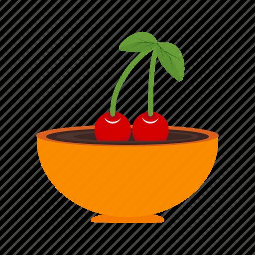 cherries, cherry, delicious, dessert, fruit, sweet icon
