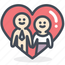 bride, couple, engagement, groom, love, mariage, relationship icon