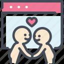 dating sites, find, heart, love, relationship, valentine, website