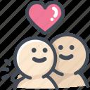 friend, heart, hug, love, lover, relationship, valentine