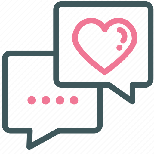 celebration, chat, heart, like, love, message, testimonial icon
