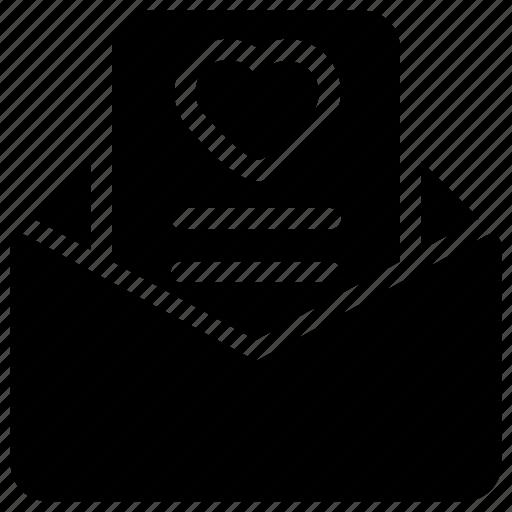 heart, letter, love, mailbox, valentine icon