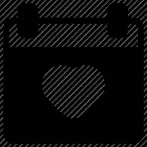 Calendar, day, event, valentine icon - Download on Iconfinder