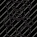 bear, gift, heart, love, present, teddy, valentine's