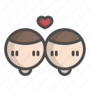 couple, heart, lgbt, love, valentine, wedding