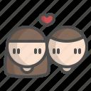 couple, love, romantic, valentine, wedding
