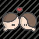 hug, kiss, love, romance, sweet, valentine, wedding