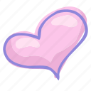 heart, love, valentine, valentine's day icon