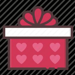 gift, love, present, surprise, valentine's day icon