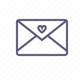 letter, love, love letter, mail, message, valentines, vday icon