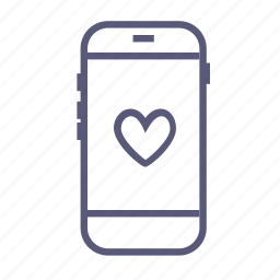 heart, love letter, message, sms, valentine's day, valentines, vday icon