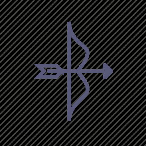 amur, arrow, bow, bow and arrow, cupid, love, vday icon