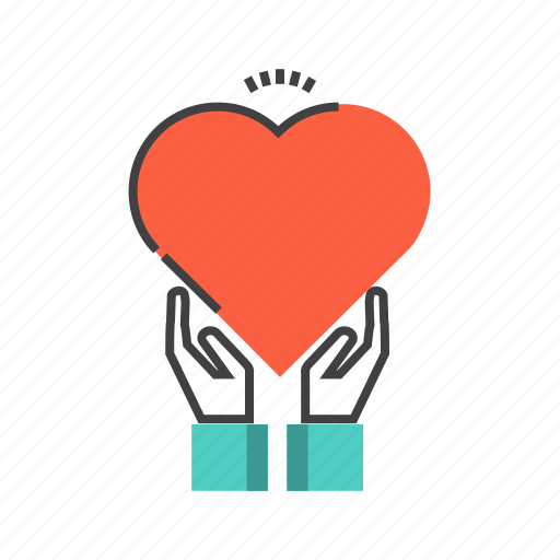 hands, heart, love, romance, romantic, valentines icon