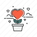 heart, romantic, valentine, valentines, wedding icon