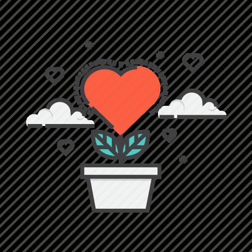 heart, romantic, valentine, valentines, wedding icon